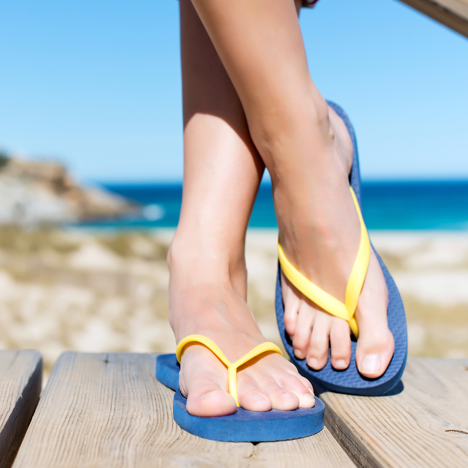 Protect Hot Weather Flip Flip Feet With Our Shea Butter
